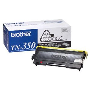 Genuine Brother TN-350 Black Toner Cartridge