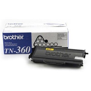 Genuine Brother TN-360 High Yield Black Toner Cartridge