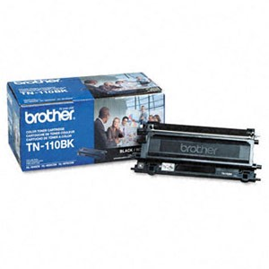 Genuine Brother TN-110BK Standard Yield Black Toner Cartridge