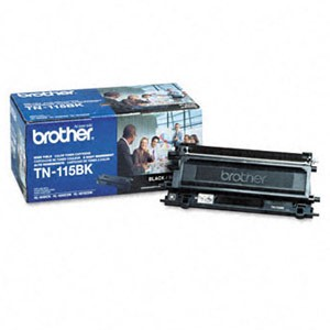 Genuine Brother TN-115BK High Yield Black Toner Cartridge