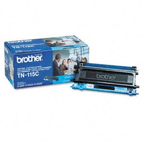 Genuine Brother TN-115C High Yield Cyan Toner Cartridge