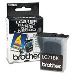 Genuine Brother LC-21BK Black Ink Cartridge