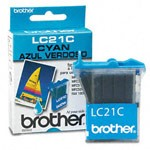 Genuine Brother LC-21C Cyan Ink Cartridge