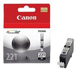 Genuine Canon CLI-221 (2946B001) Black Ink Cartridge