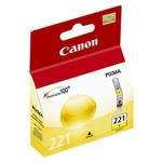Genuine Canon CLI-221 (2949B001) Yellow Ink Cartridge