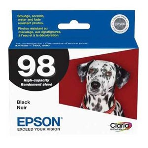 Genuine Epson T098120 Claria Ultra Hi-Definition High Capacity Black Ink Cartridge