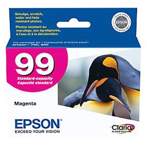 Genuine Epson T099320 Claria Ultra Hi-Definition Standard Capacity Magenta Ink Cartridge
