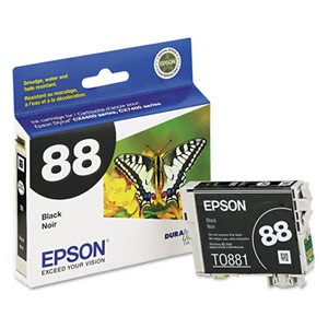 Genuine Epson T088120 Economical DURABrite  Black Ink Cartridge