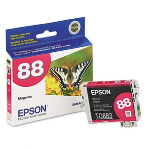 Genuine Epson T088320 Economical DURABrite Magenta Ink Cartridge