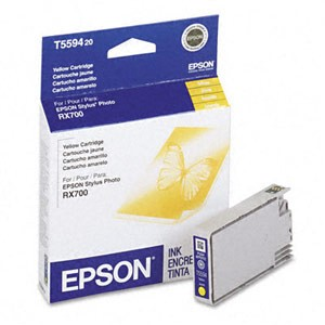 Genuine Epson T559420 Yellow Ink Cartridge