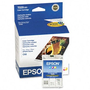 Genuine Epson T029201 Color Ink Cartridge