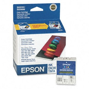 Genuine Epson S191089 Color Ink Cartridge