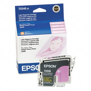 Genuine Epson T034620 Light Magenta Ink Cartridge