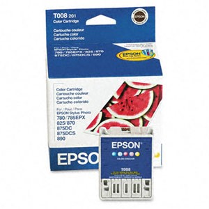 Genuine Epson T008201 Color Ink Cartridge