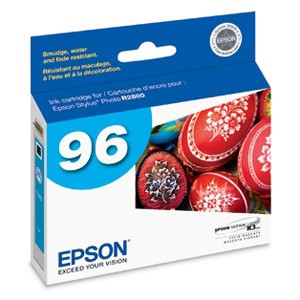 Genuine Epson T096220 Cyan Ink Cartridge