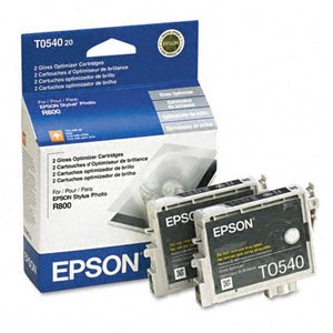 Genuine Epson T054020 Gloss Optimizer Cartridge