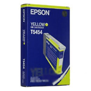 Genuine Epson T545400 Yellow Dye Ink Cartridge