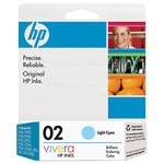 Genuine Hewlett Packard (C8774WN) HP02 Light Cyan Ink Cartridge