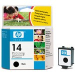 Genuine Hewlett Packard (C5011D) HP 14 Black Ink Cartridge