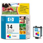 Genuine Hewlett Packard (C5010D) HP 14 Color Ink Cartridge