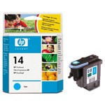 Genuine Hewlett Packard (C4921A) HP 14 Cyan Ink Printhead