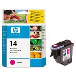 Genuine Hewlett Packard (C4922A) HP 14 Magenta Ink Printhead