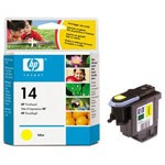 Genuine Hewlett Packard (C4923A) HP 14 Yellow Ink Printhead