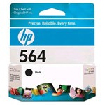 Genuine Hewlett Packard (CB316WN) HP 564 Black Ink Cartridge