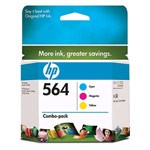 Genuine Hewlett Packard (CD994FN) HP 564 Color Ink Cartridge Combo Pack