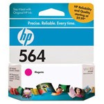 Genuine Hewlett Packard (CB319WN) HP 564 Magenta Ink Cartridge
