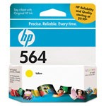 Genuine Hewlett Packard (CB320WN) HP 564 Yellow Ink Cartridge