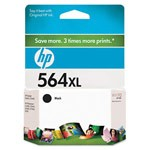 Genuine Hewlett Packard (CN684WN) HP 564XL High Capacity Black Ink Cartridge