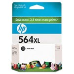 Genuine Hewlett Packard (CB322WN) HP 564XL High Capacity Photo Black Ink Cartridge