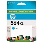 Genuine Hewlett Packard (CB323WN) HP 564XL High Capacity Cyan Ink Cartridge