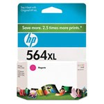 Genuine Hewlett Packard (CB324WN) HP 564XL High Capacity Magenta Ink Cartridge