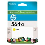 Genuine Hewlett Packard (CB325WN) HP 564XL High Capacity Yellow Ink Cartridge