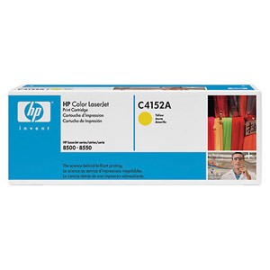 Genuine Hewlett Packard C4152A Ultraprecise Yellow Toner Cartridge