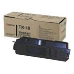 Genuine Kyocera Mita TK18 Black Toner Cartridge
