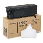 Genuine Kyocera Mita TK67 Black Toner Cartridge