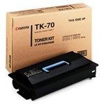Genuine Kyocera Mita TK70 Black Toner Cartridge