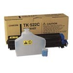 Genuine Kyocera Mita TK522C Cyan Toner Cartridge