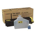 Genuine Kyocera Mita TK522Y Yellow Toner Cartridge