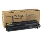 Genuine Kyocera Mita TK512K Black Toner Cartridge