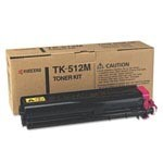 Genuine Kyocera Mita TK512M Magenta Toner Cartridge