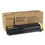 Genuine Kyocera Mita TK512Y Yellow Toner Cartridge