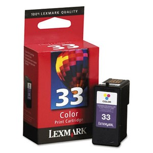 Genuine Lexmark (18C0033) #33 Color Ink Cartridge