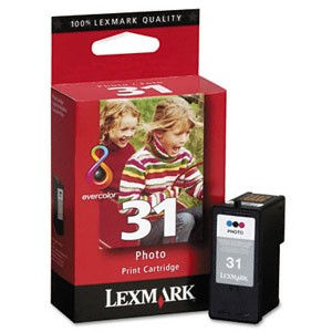 Genuine Lexmark (18C0031) #31 Photo Color Ink Cartridge