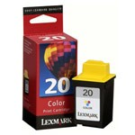 Genuine Lexmark (15M0120) #20 Color Ink Cartridge