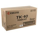 Genuine Kyocera Mita TK40 Black Toner Cartridge
