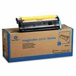 Genuine Konica-Minolta 1710471-004 Cyan Toner Cartridge